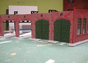 Två portar klara!