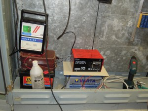 Bild 6 Dania 10A laddare Varta batteri